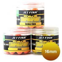 JET FISH - POP UP Boilie SUPRA FISH, 16mm - squid/scopex