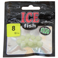 ICE fish - Fruoro korálky vel. 10 - 7ks