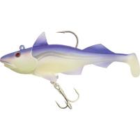 QUANTUM - Nástraha ryba Skrey shad 250g 17cm fluo/fialová jig + 2x ryba