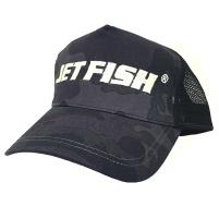 JET FISH - Kšiltovka - Truckered Černý maskáč