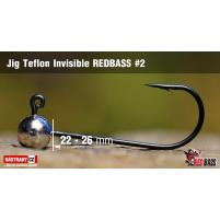 Red Bass - Jig koule Teflon invisible 2