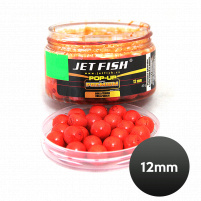 JET FISH - POP UP Boilie PREMIUM CLASSIC 12mm/40g - Chilli/Česnek