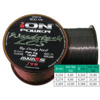 AWA-SHIMA - Silon ION POWER Weedstash LCS - 0,324mm - 600m